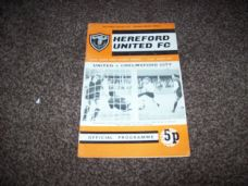 Hereford United v Chelmsford City, 1971/72 [SLC]